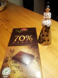Fikk denne fine sjokoladerivjern i julegave.
