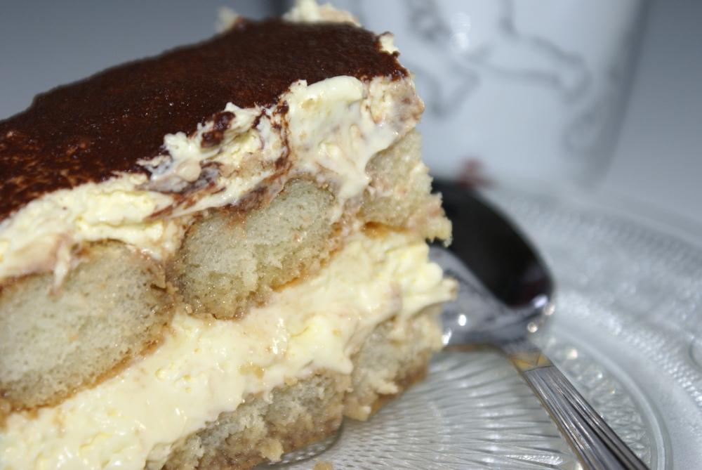 Trekk meg opp - Tiramizu, en italiensk dessert som absolutt kan anbefales også som kaffekake :-)