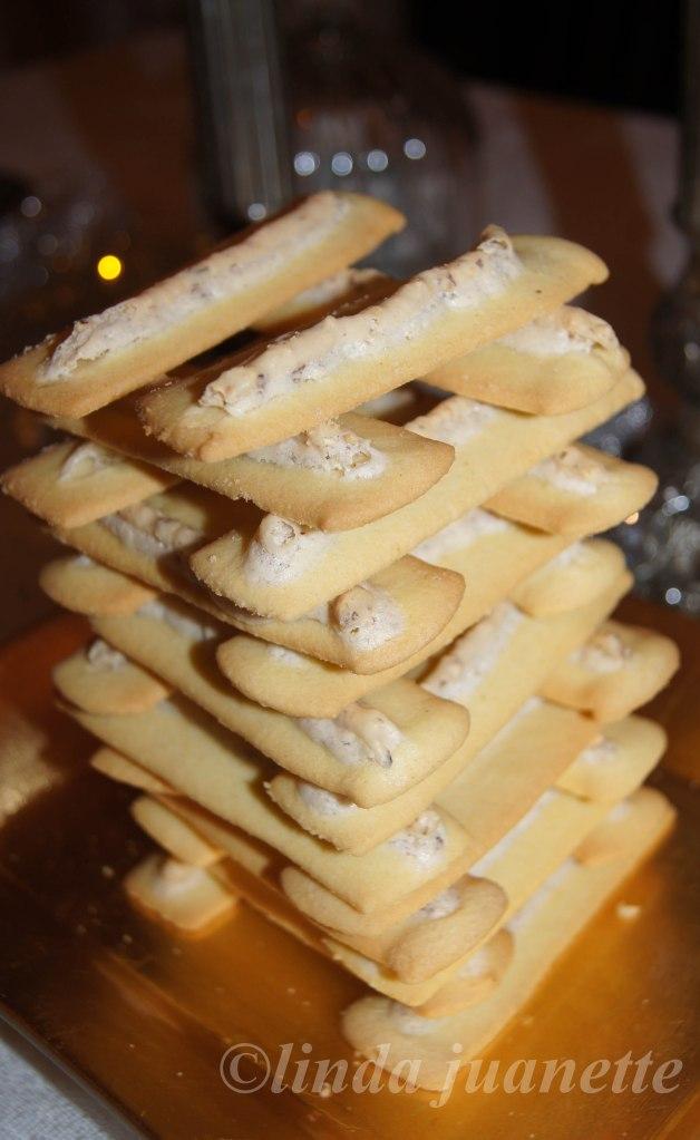 Dekorative småkaker til julebordet :-)